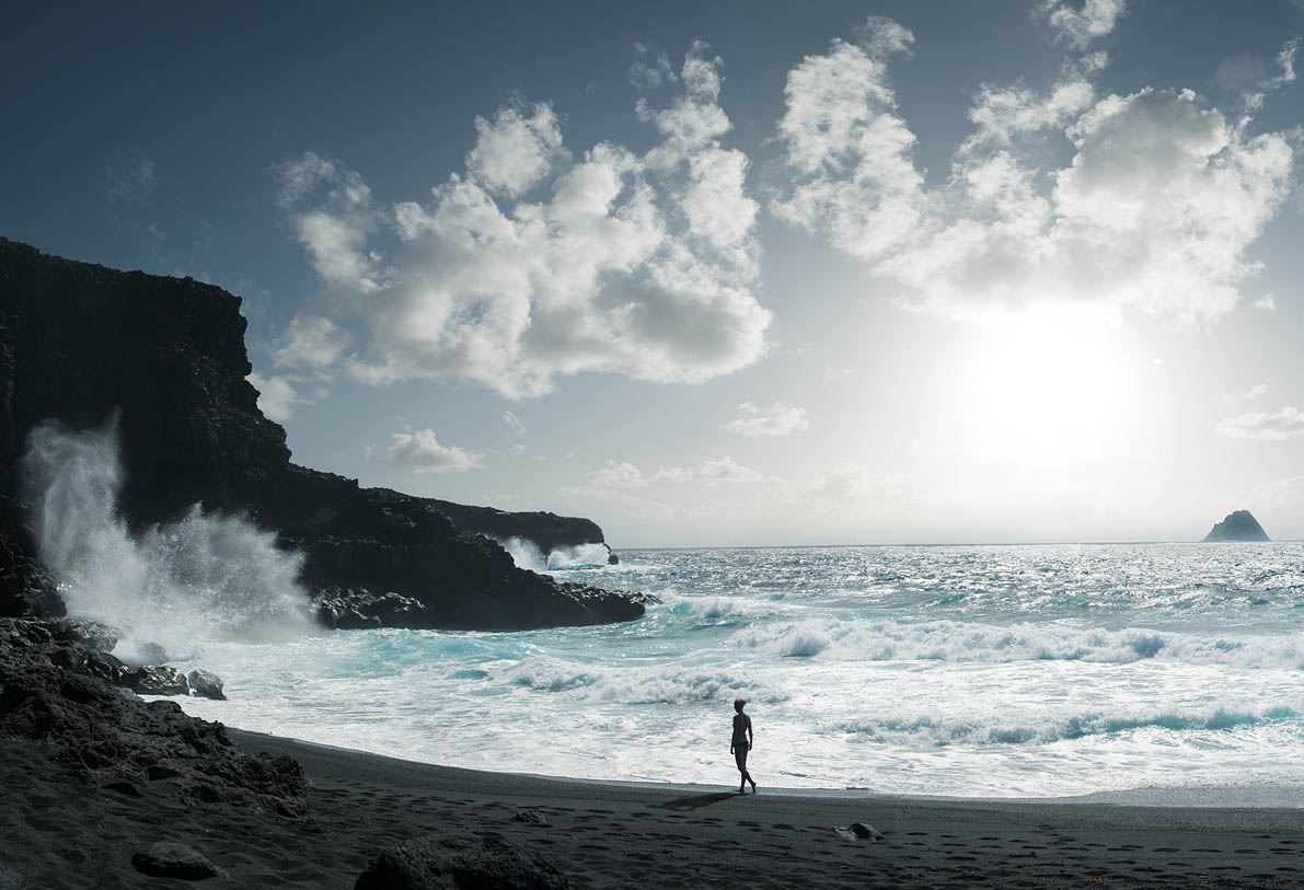Lanzarote Black beach Wouter Boer Photography