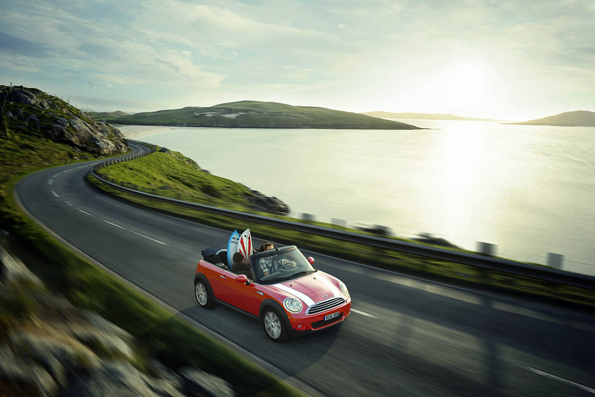 Mini Cabrio Scotland Wouter Boer Photography