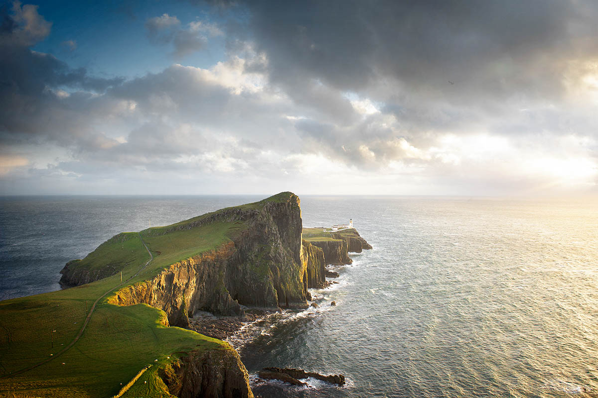 Neist Point Lighthouse Scotland Wouter Boer Photography