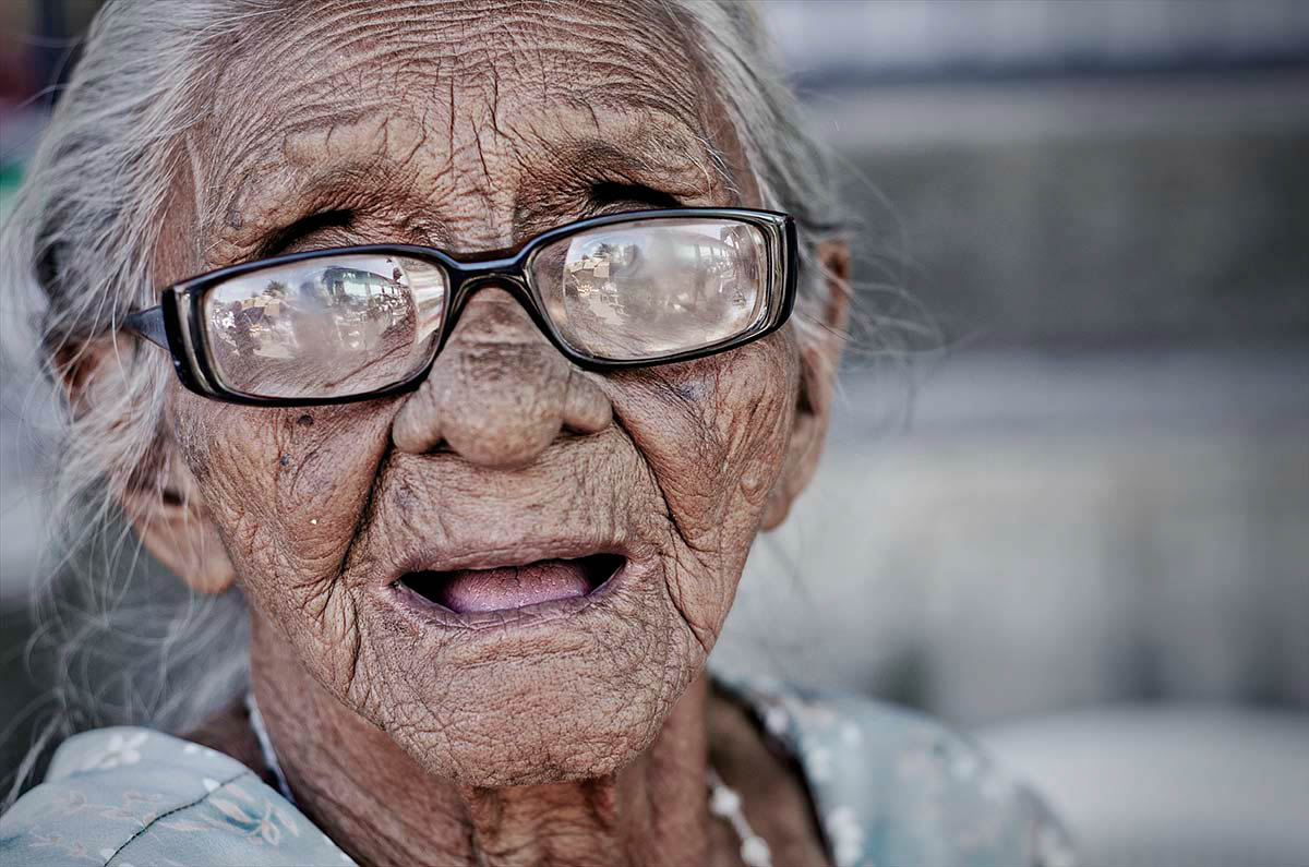 Portrait Worn Glasses Nicaragua Wouter Boer Photography