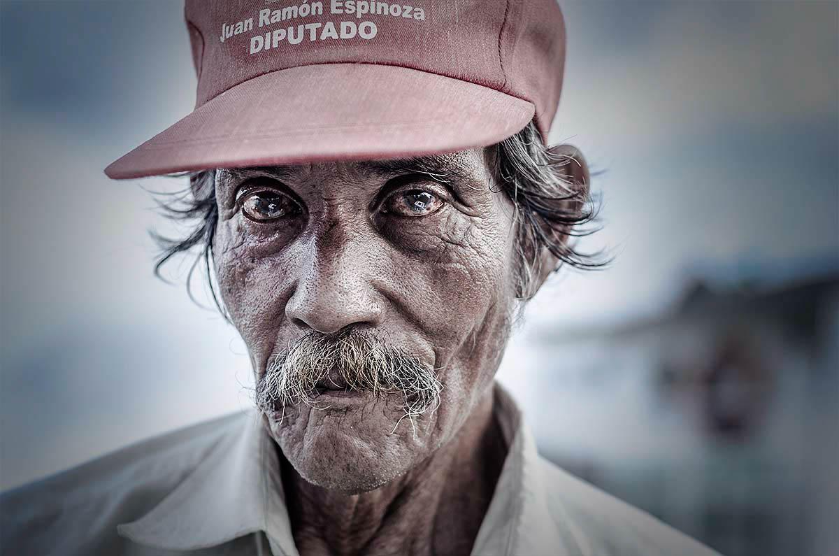 Portrait man Nicaragua Wouter Boer Photography