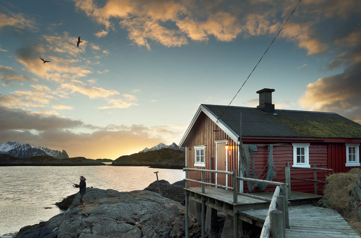 Rorbu Cottage Fisherman Norway Wouter Boer Photography