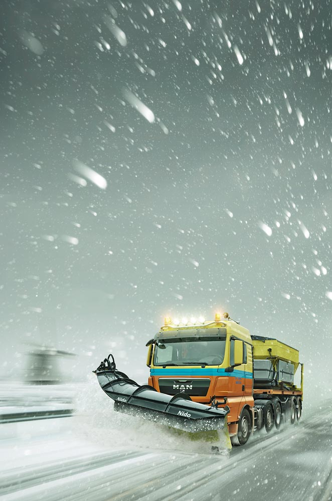 Snowplow Netherlands Wouter Boer Photography