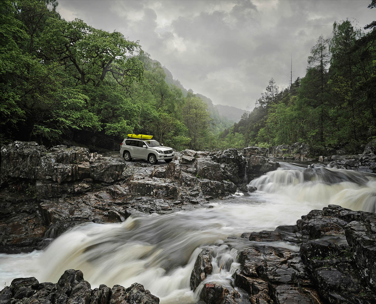 Toyota Land Cruiser Scotland Wouter Boer Photography